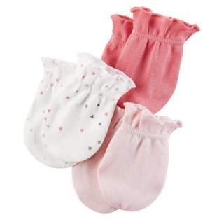 Carters 3 pack Mittens