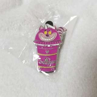 (包郵)Cheshirecat drink pin
