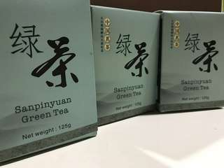 Green tea sanpinyuan