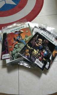 Mixture of marvel comic