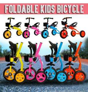 Foldeable bicycle