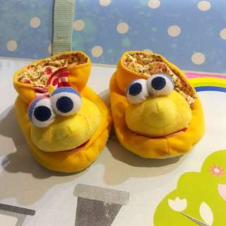 Sesame Street Big Bird Booties