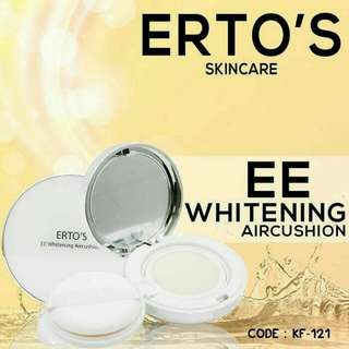ERTOS EE WHITENING AIRCUSHION / ERTO'S BEDAK EE CUSHION
