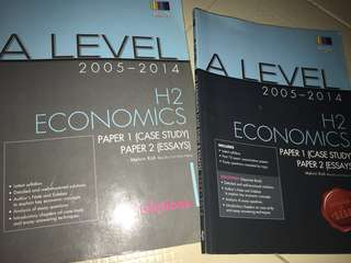 A level H2 economics shinglee question paper and solutions