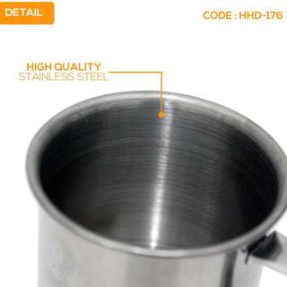 PROMO CANGKIR KECIL STAINLESS STEEL PERALATAN DAPUR (HHD-176)