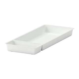 [IKEA] STÖDJA Utensil tray, white