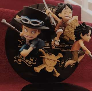 One Piece Action Figures Brotherhood Luffy-Sabo-Ace