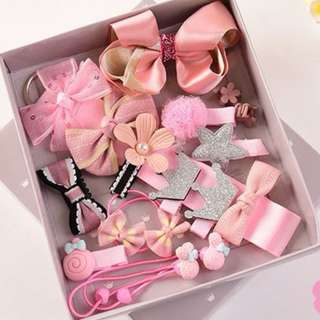 Lovely Hair Accessories (18 pieces)