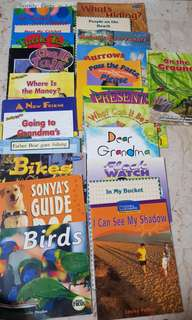 English Children Books (suitable for 2 to k2)