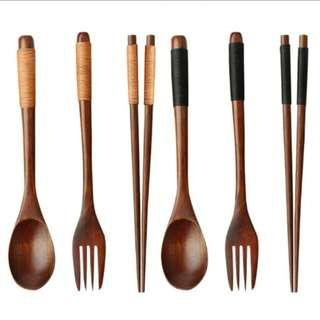 P/O Spoon, Fork & chopstick
