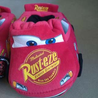 Almost new Cars slippers