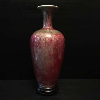 瓷器花瓶 高 10寸 口径 2.5寸                                            -- 与你共享 --