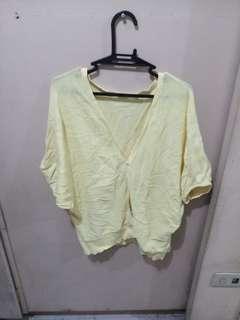 Light Yellow Cardigan