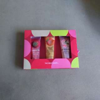 Body Shop original hand creams