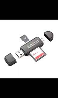 Mini USB card reader ( plz read description)