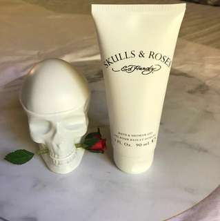 Ed hardy skulls and roses perfume