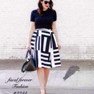 Plus size two tone dress