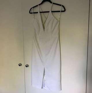 Bardot size 12 white dress
