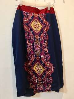 The Ramp - Silk Skirt