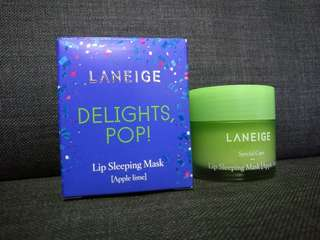 Laneige Lip Sleeping Mask - Apple Lime [100% New & Original]