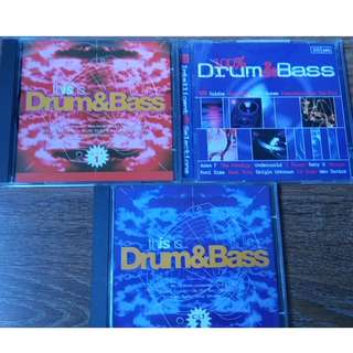 Drum and Bass Various Artists Compilation CDs - Dance