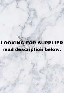 LF : SUPPLIERS