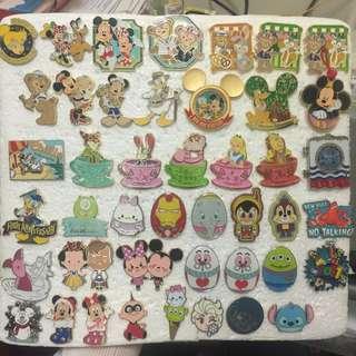 迪士尼徽章襟章 Disney pins