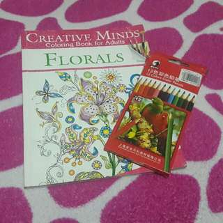 Creative Minds Coloring Book