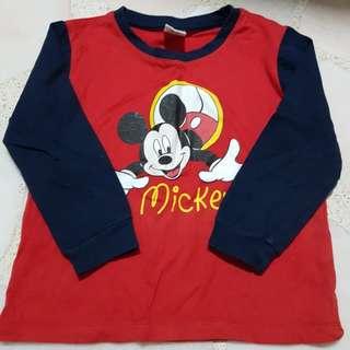 Mickey mouse pyjamas - 2 to 3 years