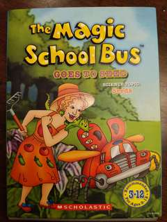 Magic School Bus DVD - Goes to seed (P4 and P5 Science)