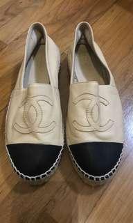 Chanel lambskin shoes