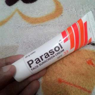 PARASOL Face Sunscreen SPF 33