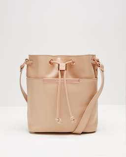 ted baker leather bucket bag 英國水桶包