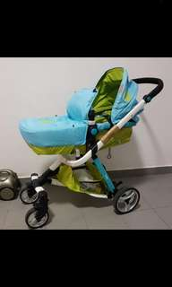 Baby Pram stroller (Nego welcome!) No low ball