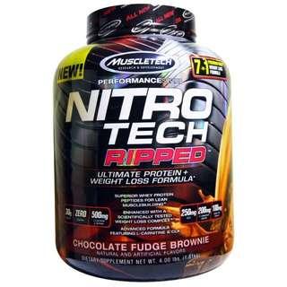 Muscletech Nitrotech Ripped 4lbs