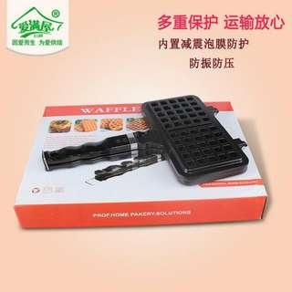 Waffle maker pan