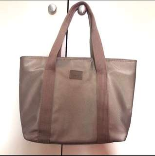 Lacoste Large Tote Brown Bag