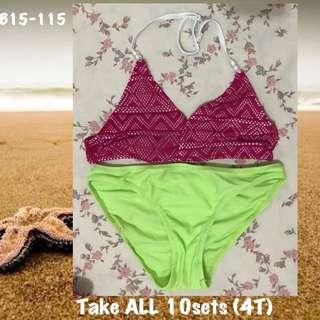 🌸🏖💕🌞Take All Kids Swimwear (10sets)