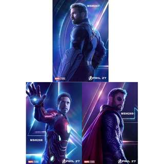 AVENGERS: INFINITY WAR MOVIE POSTERS (PART 3)