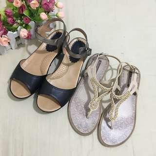 Mendrez sandals + 1 FREE