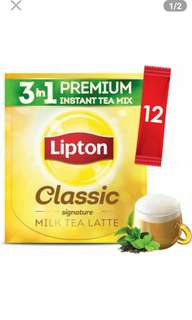 Lipton Milk Tea 3 in 1 Classic 12 sticks