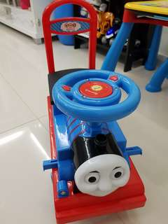 Thomas the train ride on car