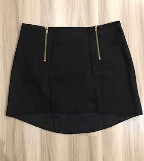 Topshop Black Pelmet Skirt