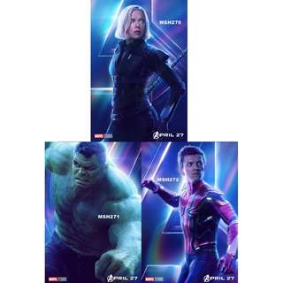 AVENGERS: INFINITY WAR MOVIE POSTERS (PART 4)