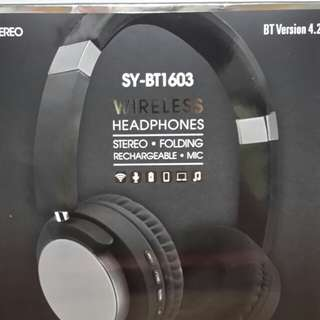 SY-BT1603 (WIRELESS HEADPHONES)