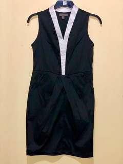Plains and print dress