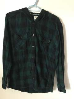TNA Aritzia Plaid shirt