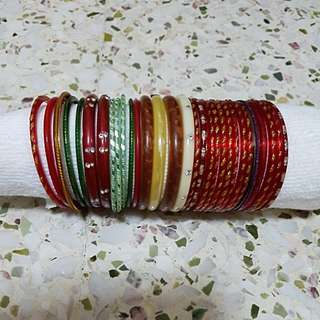 Mix Indian Bangles all  $5