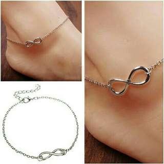 Sale! Infinity Anklet bracelet