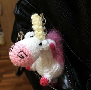 Despicable Me Fluffy Unicorn Amigurumi
